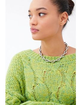 Ellie Uo Exclusive Freya Chunky Chain Necklace by Ellie Vail