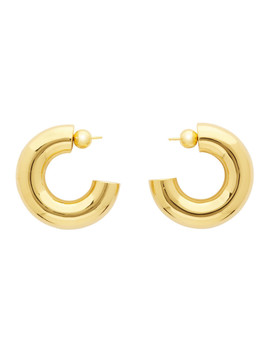 Gold Large Donut Hoops by Sophie Buhai
