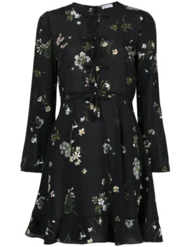 Long Sleeved Mini Dress by Red Valentino