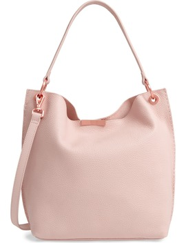 Candiee Faceted Bar Leather Hobo by Ted Baker London