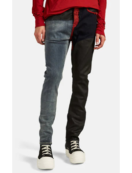 Detroit Mixed Media Jeans by Rick Owens Drkshdw