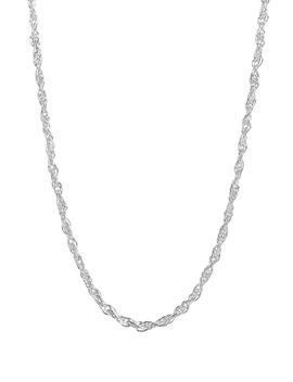 Rope Chain Neckace by Argento Vivo
