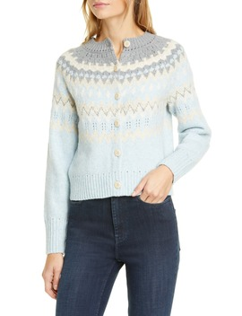 Fair Isle Cardigan by La Vie Rebecca Taylor
