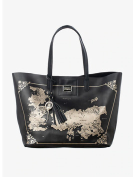 Game Of Thrones Westeros &Amp; Essos Map Tote Bag by Hot Topic