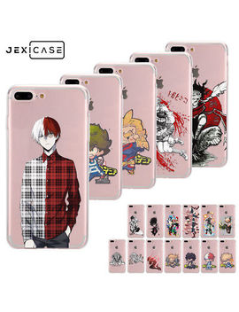 Anime Bnha My Hero Academia Tpu Silicone Phone Case For I Phone Xs Max Xr 7 8 Plus by Jexicase