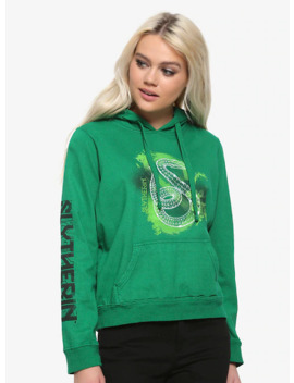 Harry Potter Slytherin Geometric Girls Hoodie by Hot Topic