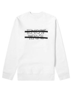Know Wave Classic Anxiety Logo Crew Sweat by Know Wave
