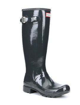 Tall Tour Gloss Silp On Rain Boots by Hunter