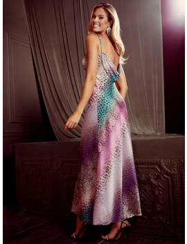Wild Streak Animal Print Maxi Dress by Guess