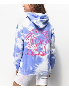New Girl Order Fast And Fresh Tie Dye Hoodie by New Girl Order