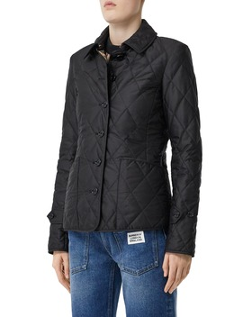 Fernleigh Thermoregulated Diamond Quilted Jacket by Burberry