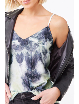 Tie Dye V Neck Cami by Forever 21
