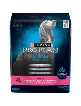 Purina Pro Plan Focus Adult Sensitive Skin & Stomach Salmon & Rice Formula Dry Dog Food by Purina Pro Plan
