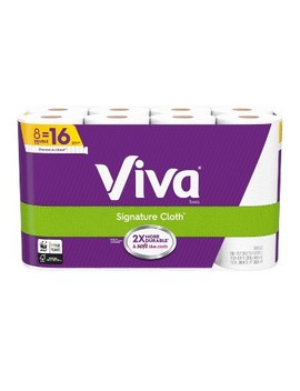 Viva Choose A Sheet Paper Towels   8 Double Rolls by Viva
