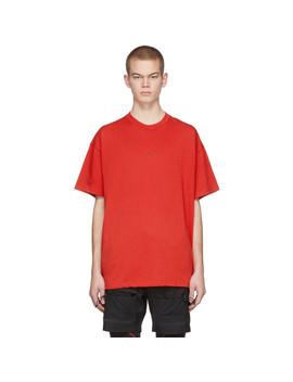 Red Mmw Edition M Nrg Training Series 003 T Shirt by Nike