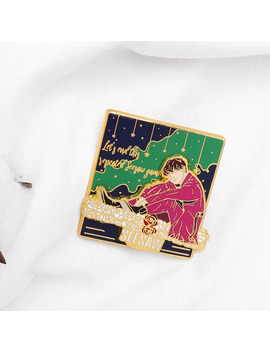 Kpop Bangtan Boys Pin Brooches Let's End This Sepeated Seesaw Game Pins Moving Combination Brooch Enamel Pin Jewelry Gift by Ali Express.Com