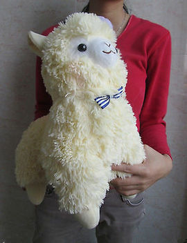 Japan Amuse Arpakasso Alpacasso Alpaca Yellow Hat 35 Plush Doll Toy Gift by Ebay Seller