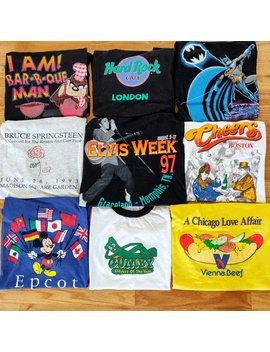 True Vintage T Shirt Mystery Box Lot Of 3 80s 90s Preowned/Used by Vintage