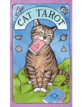 Cat Tarot : 78 Cards And Guidebook by Megan Lynn Kott