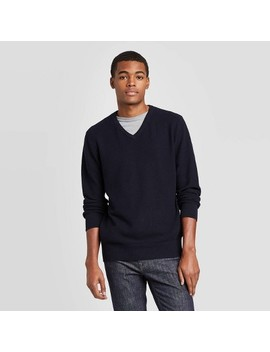 Men's Standard Fit V Neck Sweater   Goodfellow & Co™ by Goodfellow & Co