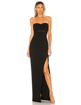 Vas Gown In Black by Likely