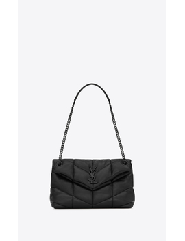 Loulou Puffer Small Bag In Quilted Lambskin by Orchard Mile