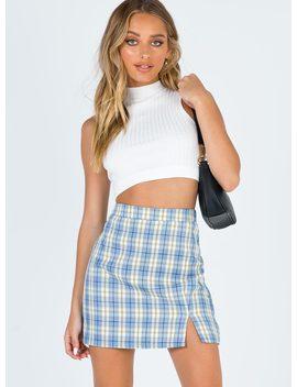 Olney Mini Skirt by Princess Polly