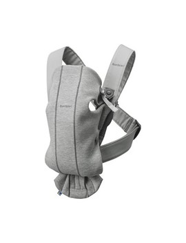 Baby Bjorn Baby Carrier Mini 3 D   Gray Moon by Baby Bjorn