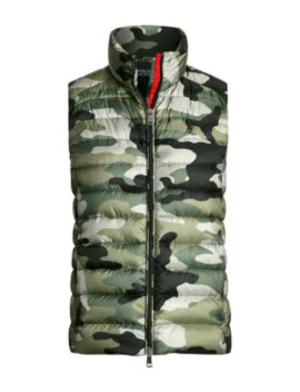 Camo Down Puffer Vest by Polo Ralph Lauren