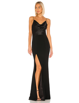 Ana Gown In Black by Cinq A Sept