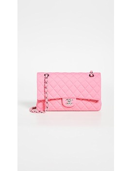 Chanel Pink Cotton Shoulder Bag by What Goes Around Comes Around
