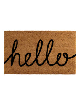 "Sonoma Goods For Life™ ""Hello"" Coir Doormat   ""18x30"" by Sonoma Goods For Life"