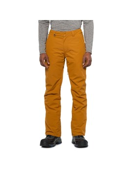 Quiksilver Golden Brown Estate Snowboard Pants   Waterproof, Insulated (For Men) by Quiksilver