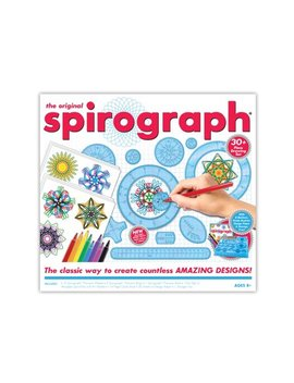 Spirograph Kit With Markers, Precision Wheels, Rings, Paper & More by Kahootz