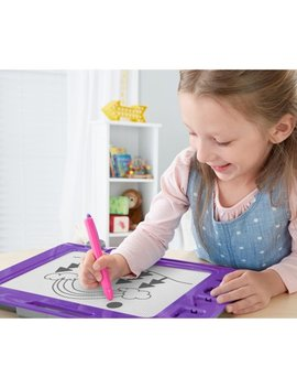 Fisher Price Doodle Pro Slim, Purple by Fisher Price