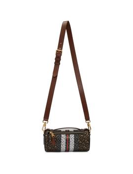 Brown Barrel Monogram Bag by Burberry
