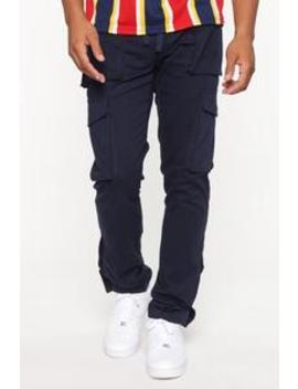 Worker Cargo Pants   Blue by Fashion Nova