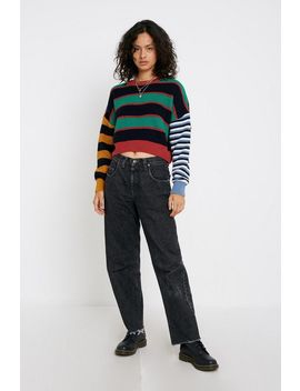 Uo Boyfriend Stripe Sweater by Urban Outfitters