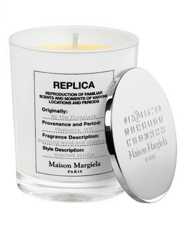 By The Fireplace Scented Candle by Maison Margiela