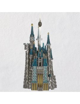 Disney Cinderella's Castle Metal Ornament Robert Hurlburt by Hallmark