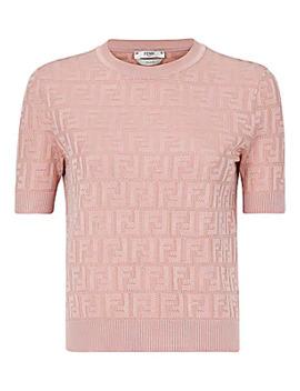 Ff Short Sleeve Knit by Fendi