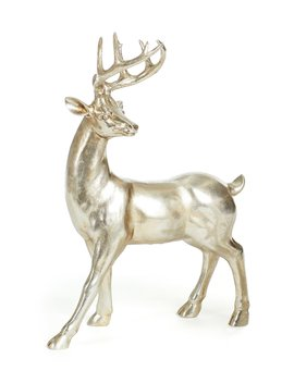 Belle Noel Collection Standing Deer Holiday Decor by Southern Living