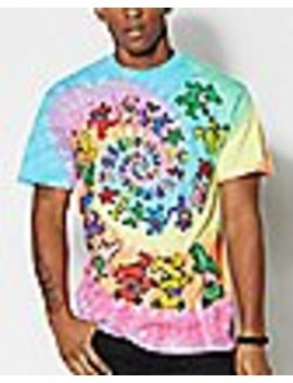 Tie Dye Bear Grateful Dead T Shirt by Spencers
