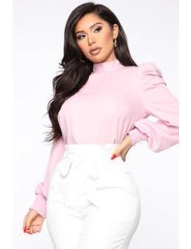 No Bad Days Blouse   Pink by Fashion Nova