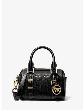 Bedford Legacy Extra Small Pebbled Leather Duffel Crossbody Bag by Michael Michael Kors