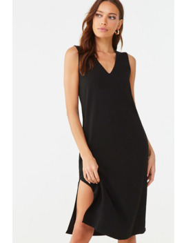 Textured Sleeveless Shift Dress by Forever 21