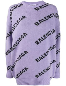 Logo Detail Jumper by Balenciaga