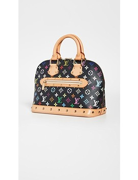Louis Vuitton Black Multi Alma Medium Bag by What Goes Around Comes Around