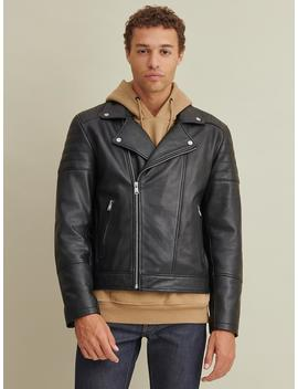 Asymmetrical Leather Jacket by Wilsons Leather