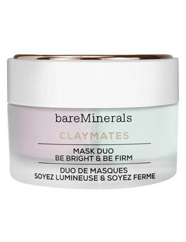 Clay Mates Be Bright & Be Firm Mask Duo by Bare Minerals